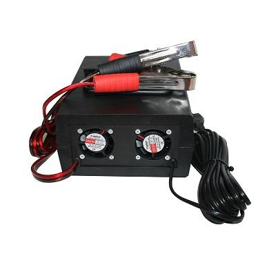 2 вентилятора установили в Зарядное устройство